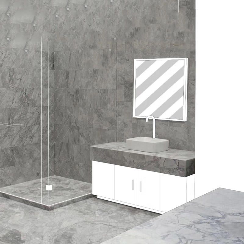 Super White Marble Countertop Is Especially Good For Wall And