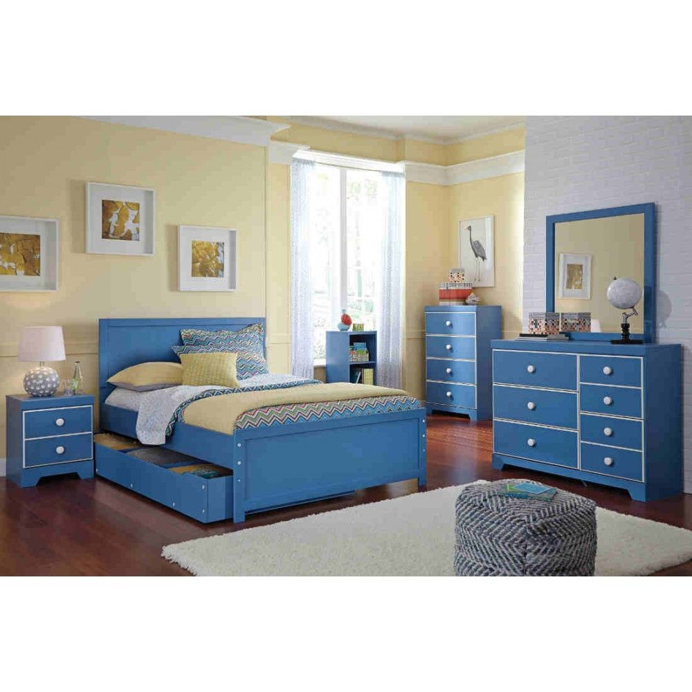 Ashley Furniture Bronilly Bedroom Set In Blue