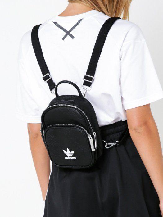 Mago diario Prima  現貨在台* Adidas Originals pu Mini backpack 迷你後背包 黑色 皮革 BK695104 | Muchilas  femininas, Mochilas adidas feminina, Bolsas de couro