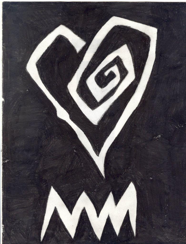 Marilyn Manson Heart Tattoo: Marilyn Manson Heart Logo Tattoo Marilyn Manson Heart