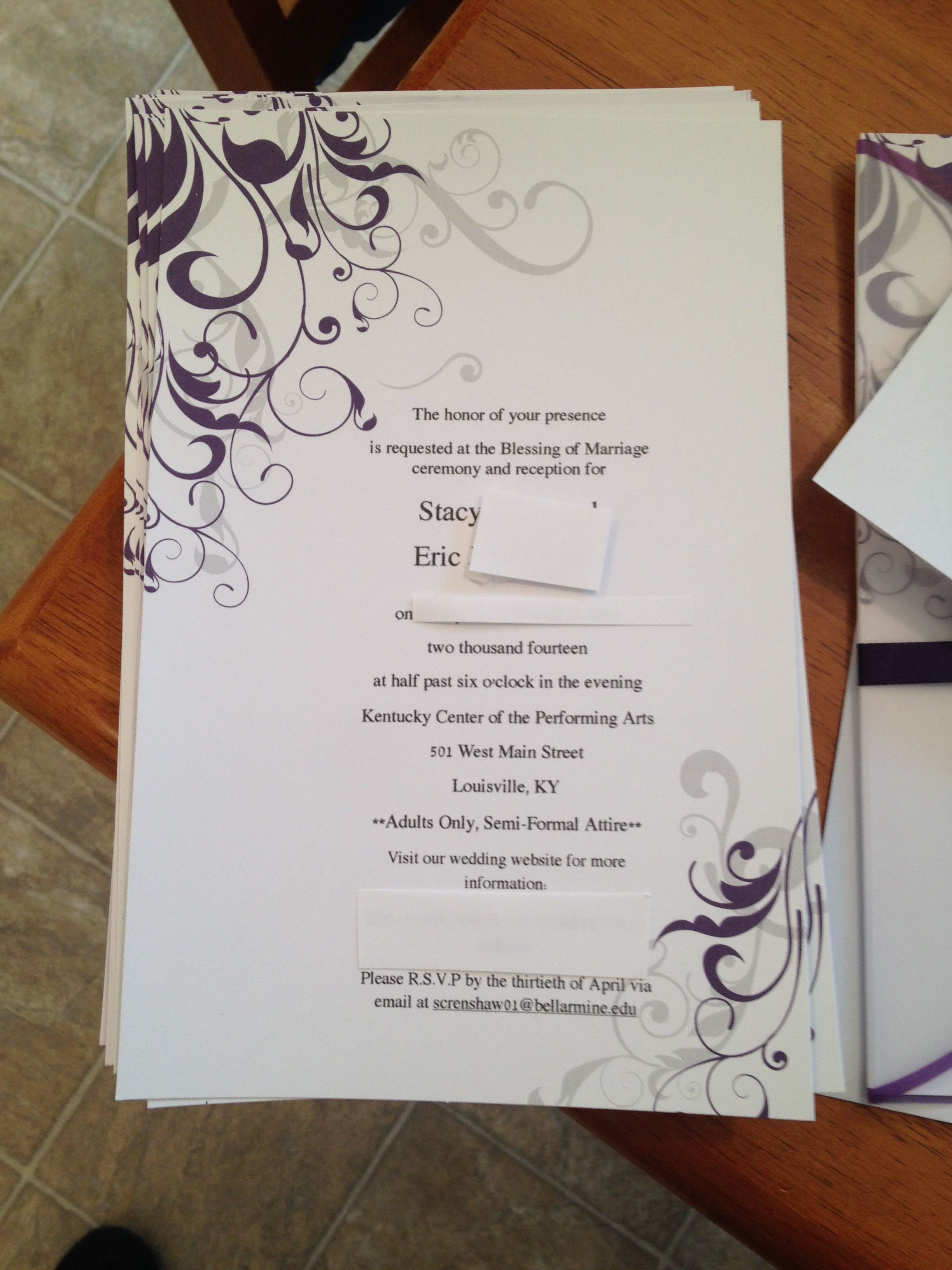 Wedding Shower Invitations At Target Design 2019 Make Wedding Invitations In 2020 Hobby Lobby Wedding Invitations Wedding Invitation Packages Wedding Invitation Kits