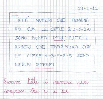 finest selection 001e2 29dff Numeri pari e numeri dispari - Didattica Scuola Primaria ...