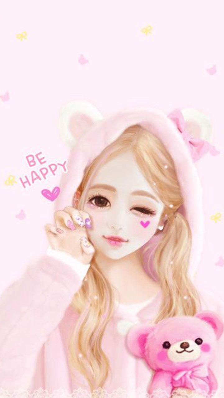Happy Girl Cute Girl Wallpaper Beautiful Girl Drawing Girl Drawing Images