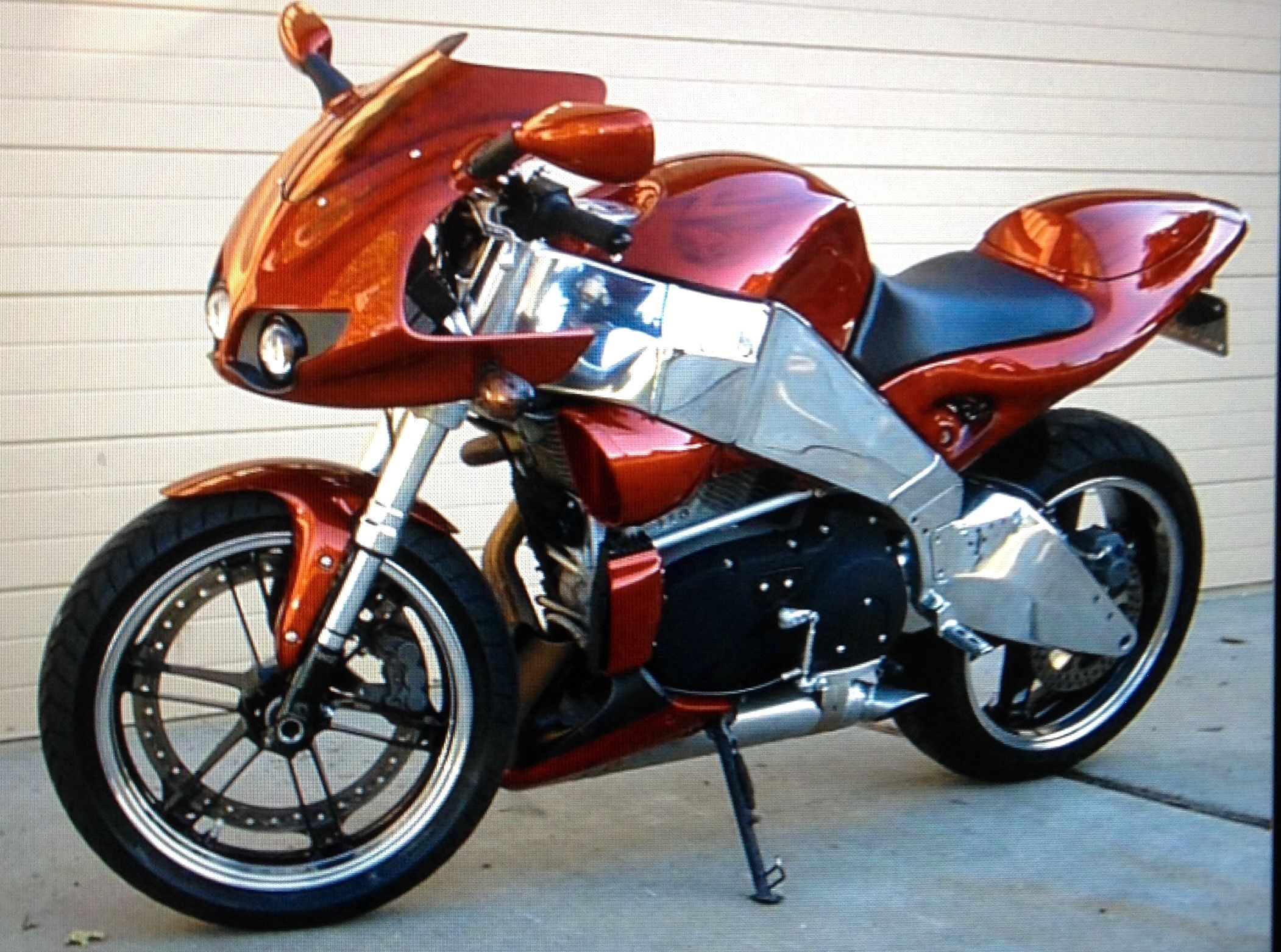 Buell Xb9r With Custom Paint And Polished Frame My Stuff