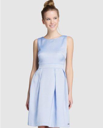 Vestidos azul lavanda