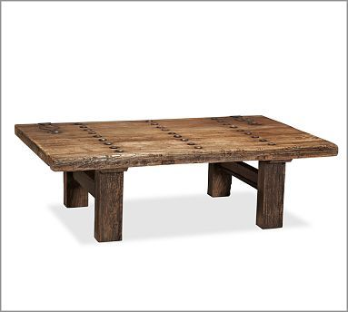 Hastings Reclaimed Wood Coffee Table Potterybarn Anawhitecom For - Hastings reclaimed wood coffee table