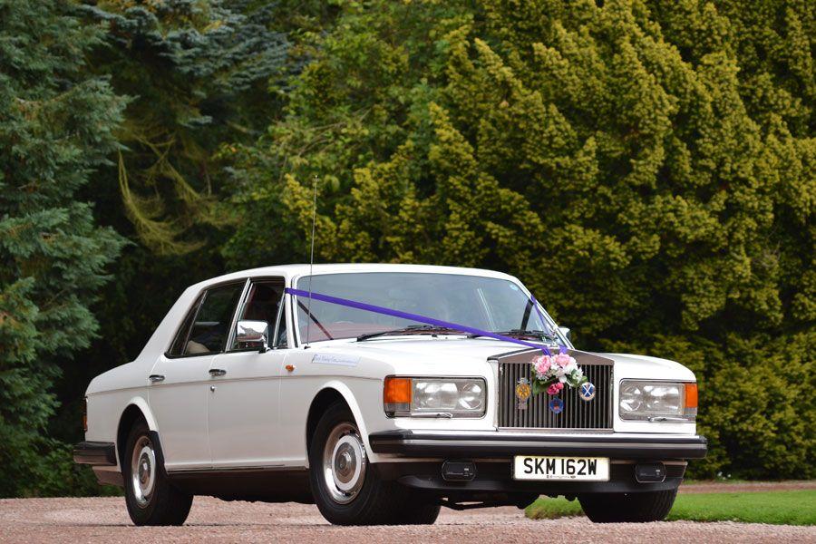 Silver Spirit Rolls Royce Wedding Car Hire Thistleweddingcars