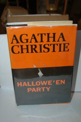 Hallowe'En Party Agatha Christie 1969 Hardcover RARE1ST American Edition w DJ | eBay