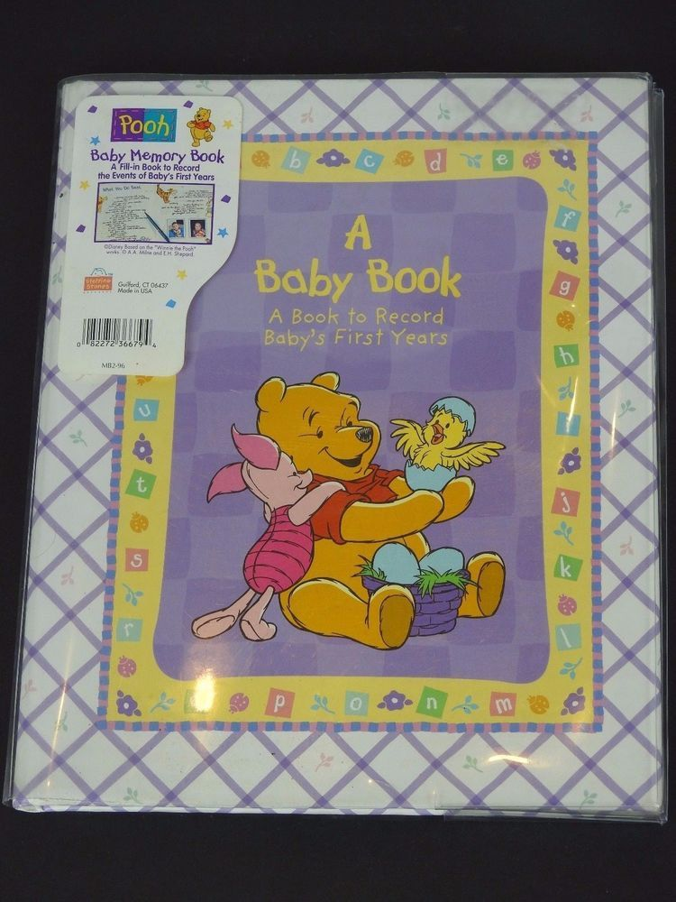 Winnie the Pooh Baby Memory Book A Book to Record Baby's