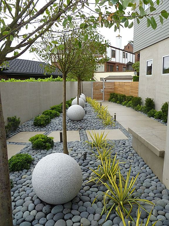 Contemporary Landscape Yard Find More Amazing Designs On Zillow Digs Modern Garden Modern Landscaping Backyard Landscaping