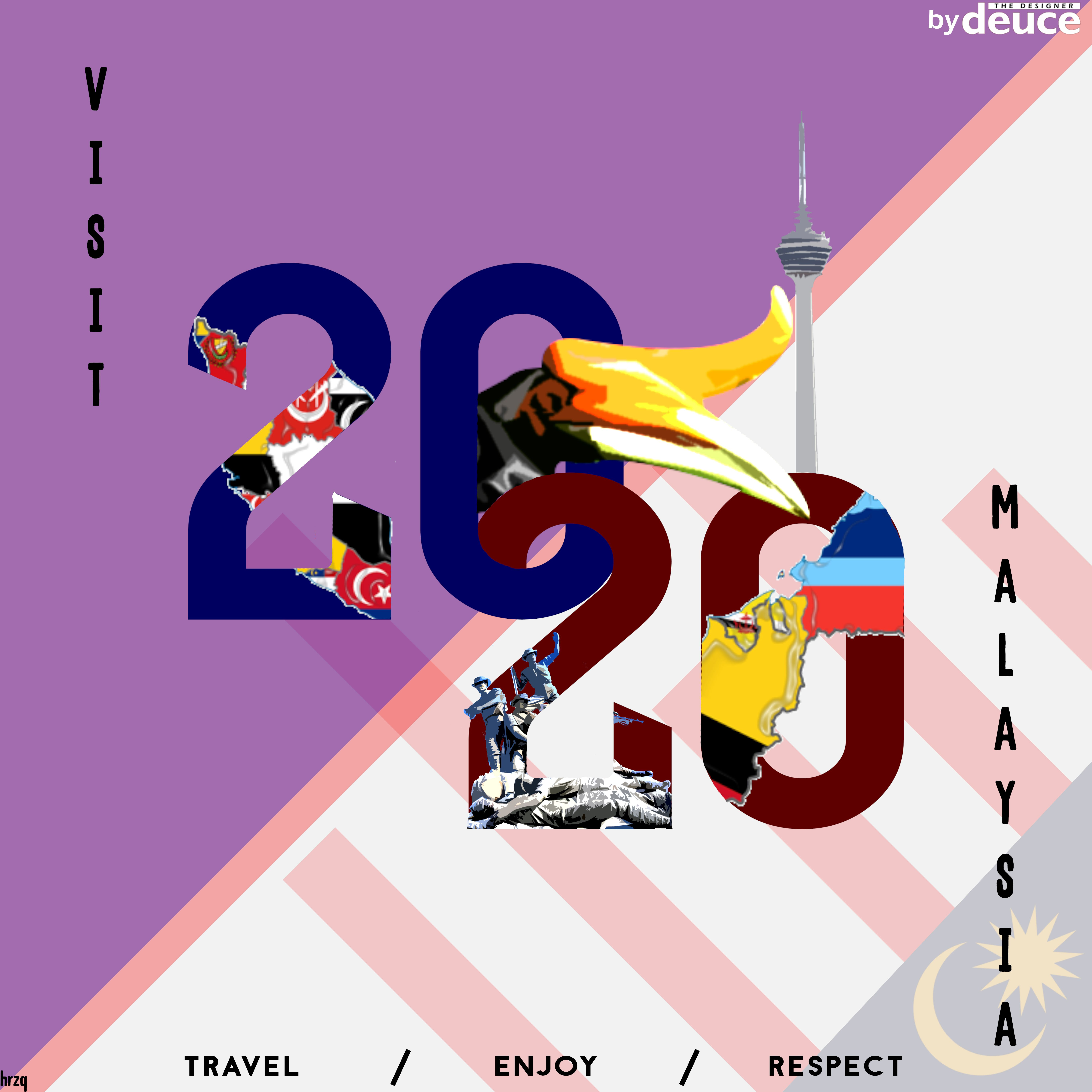 New Ideas In Tourism 2020 visit malaysia 2020 redesign logo | Ideationator | Movie posters