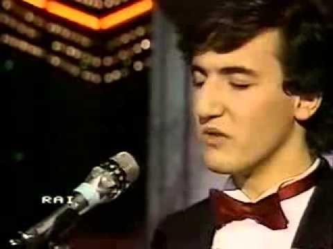 Fabio Vanni LEI BALLA SOLA Festival di Sanremo 1984