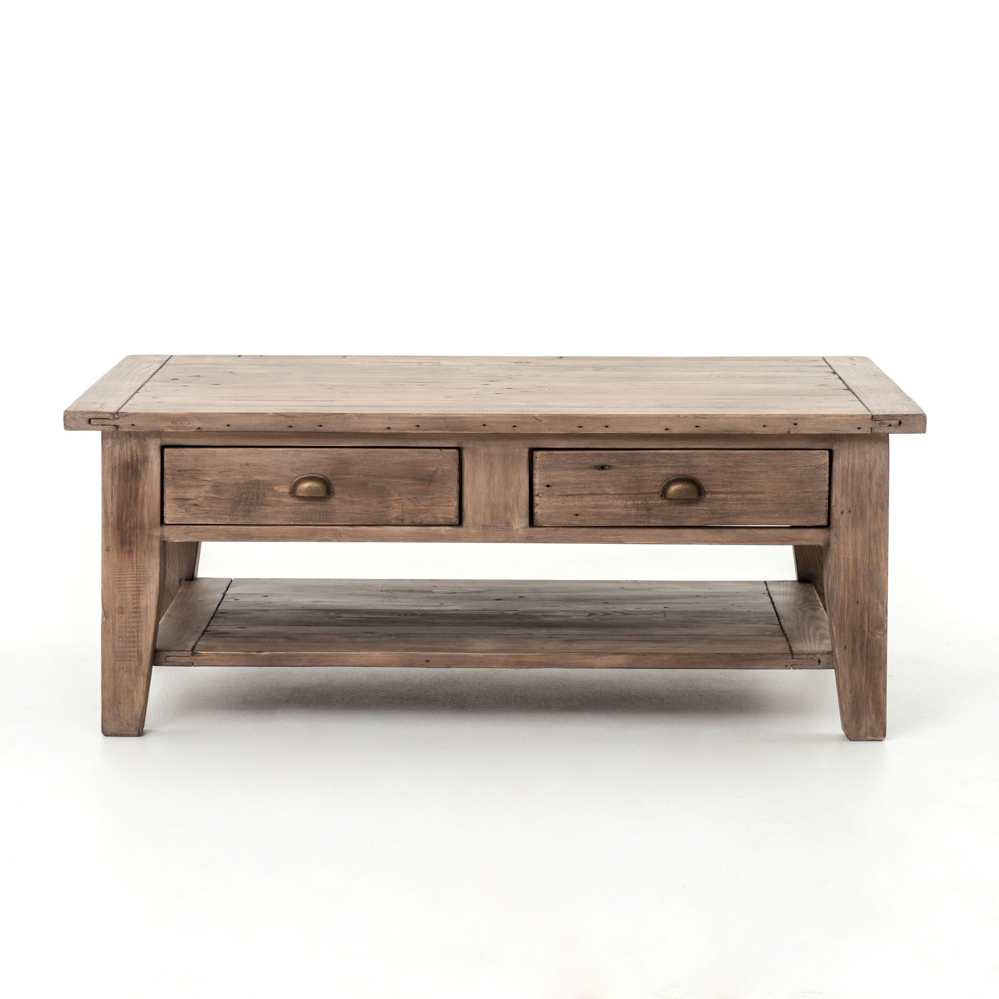 Four Hands Living Room Irish Coast Coffee Table 2drw Shelf Sn A Vica 05 11 Coffee Table Wood Coffee Table Coffee Table With Drawers [ 2048 x 2048 Pixel ]