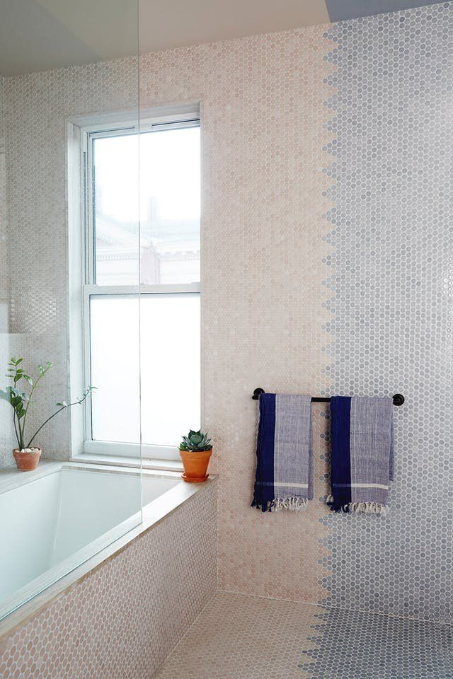 This Tile Trick Is a Game-Changer for Budget Bathrooms | Budgeting ...