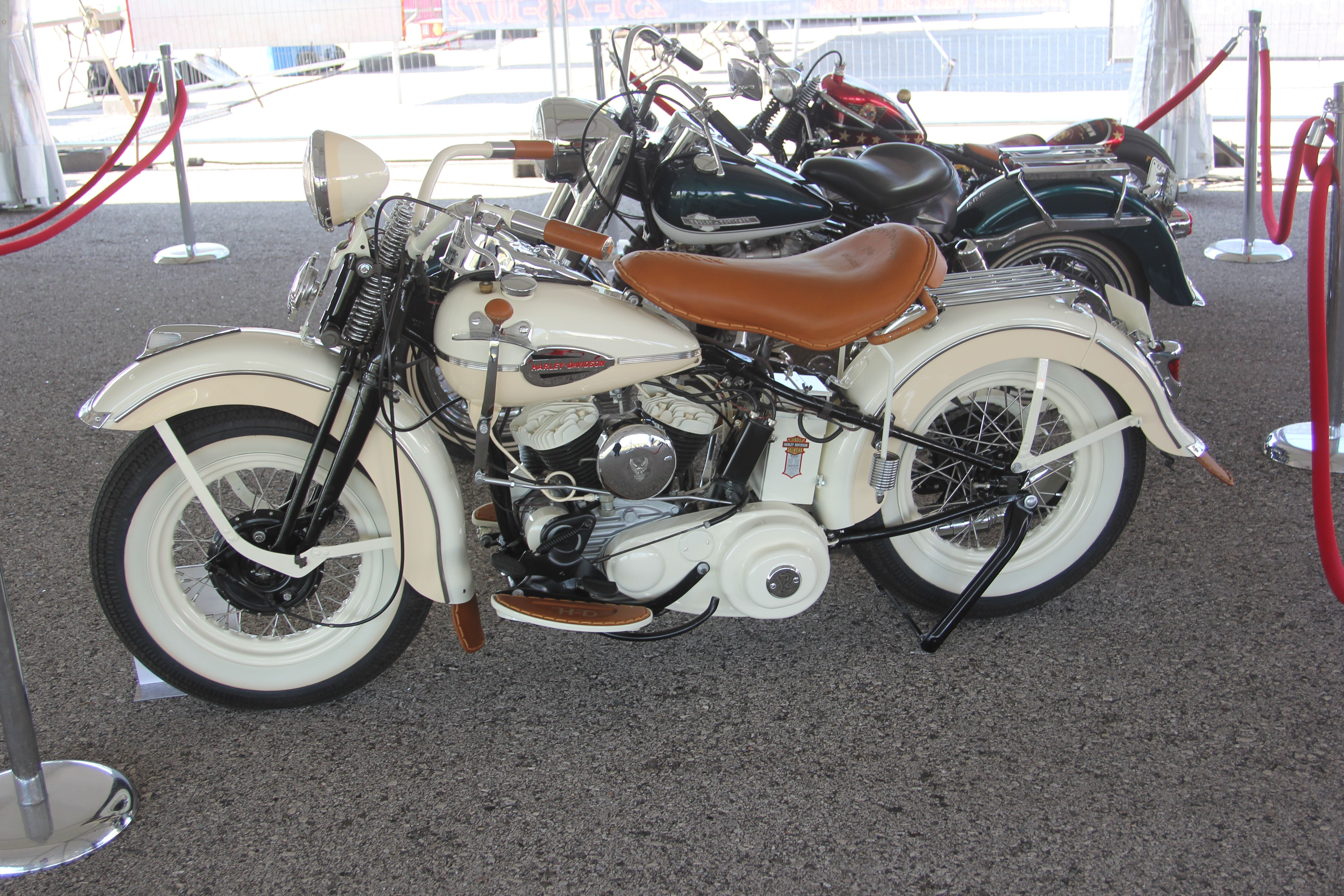 1946 harley flat head 45 redone by paul anderson will be featured at harley davidson celebration