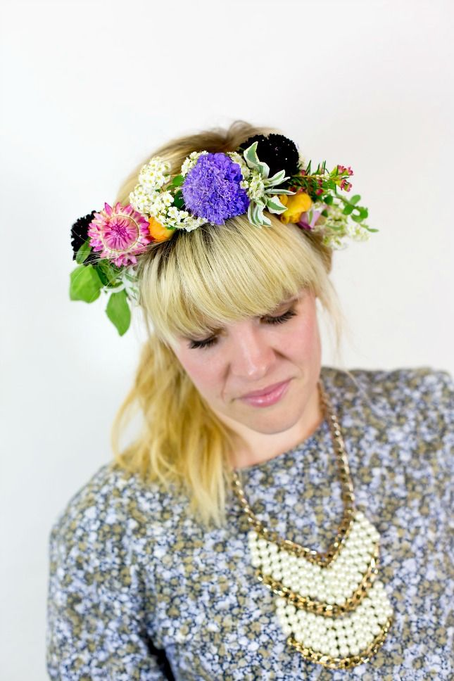 Beautiful summer floral crowns.