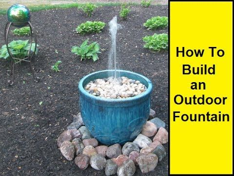 How To Make An Outdoor Fountain.How To Make An Outdoor Fountain Water Features In The