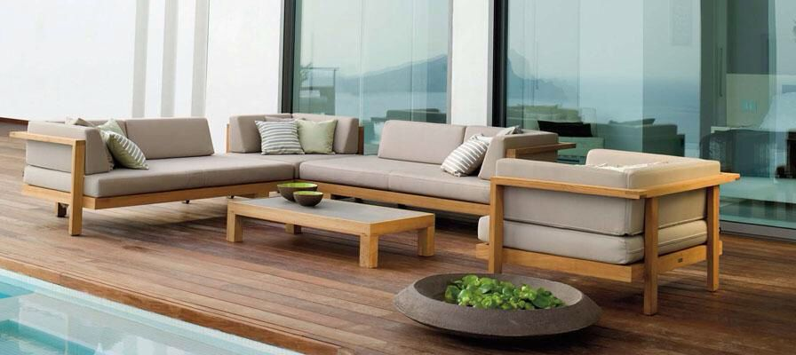 Janus Et Cie Outdoor Spaces Sofa Outdoor Furniture