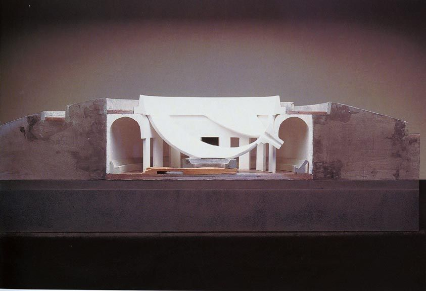James Turrell Roden Crater South Space James Turrell Architecture Model Public Sculpture