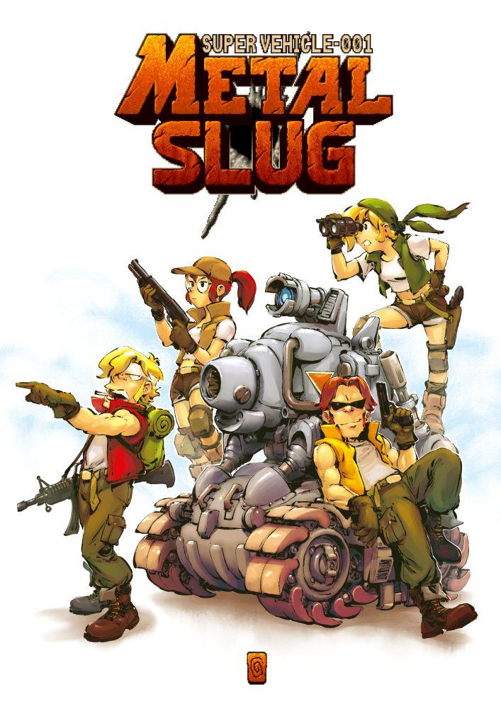Metal Slug By Smolb Personagens De Games Wallpaper De Desenhos Animados Desenhos Animados
