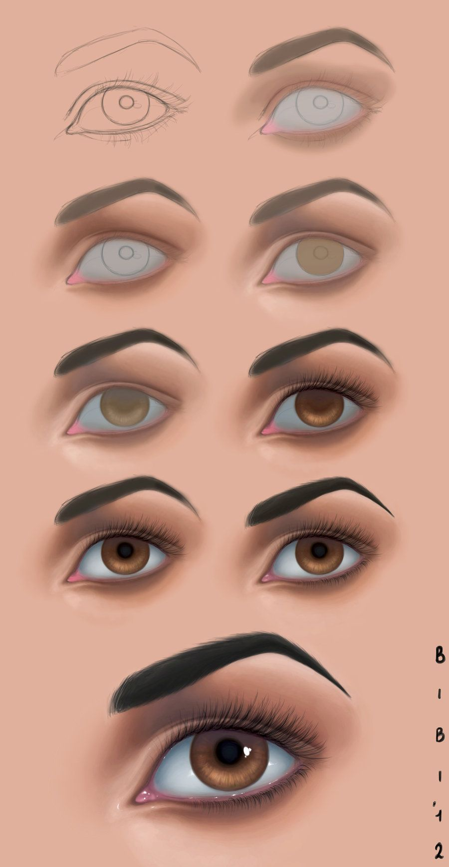 Tutorial photoshop n2 eye by elybibi learn pinterest tutorial photoshop n2 eye by elybibi digital painting baditri Image collections