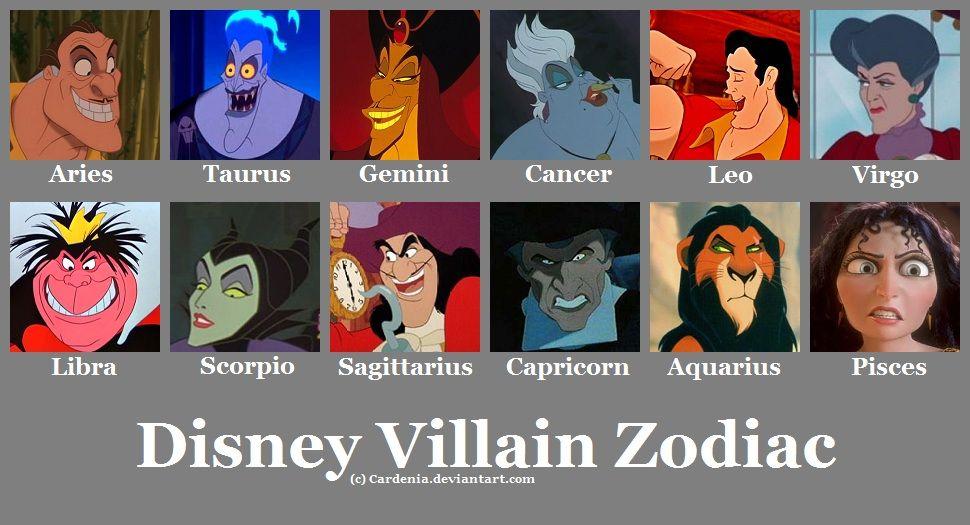 Disney Villain Zodiac - Maleficent is awesome!