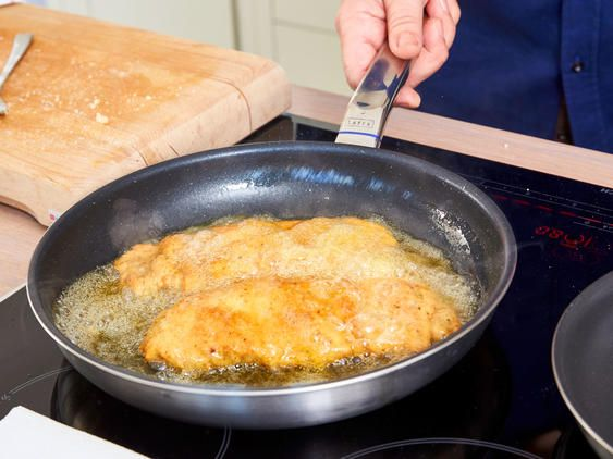 wiener schnitzel braten  wiener schnitzel rezepte schnitzel