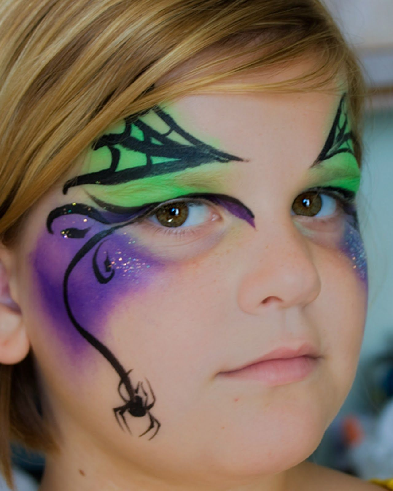 Pixie Dust Face Painting Witch Face Paint Face Painting Halloween Halloween Makeup Easy