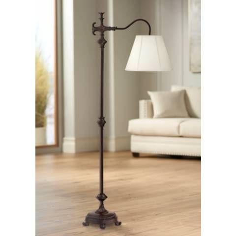 Hancock Traditional Bronze Downbridge Floor Lamp 7j534 Lamps