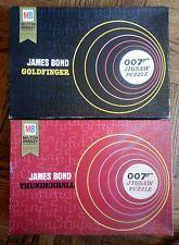 a rare 1965 Milton Bradley James Bond 007 Goldfinger & Thunderball JIGSAW PUZZLE