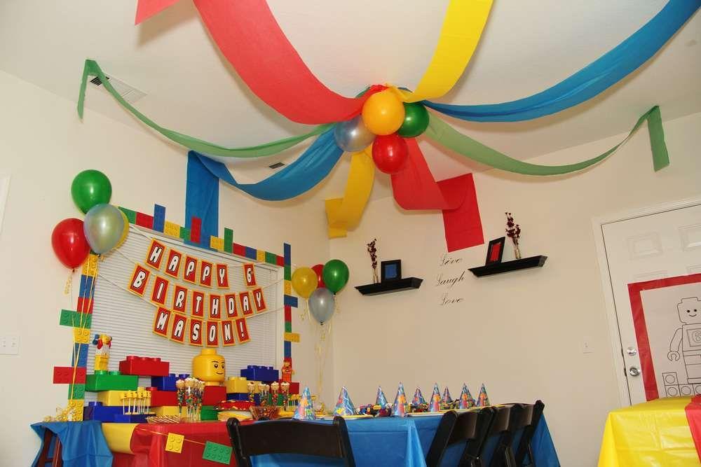 Legos Birthday Party Ideas | Lego, Birthday party ideas and Birthdays