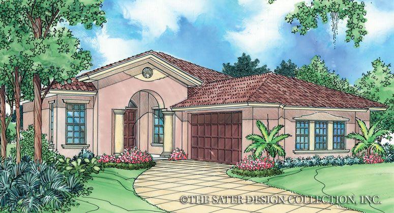 Anacito House Plan Mediterranean House Plans Southwest House Luxury House Plans