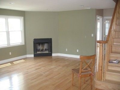 Walls are Benjamin Moore Dry Sage this is a gorgeous color Perfect