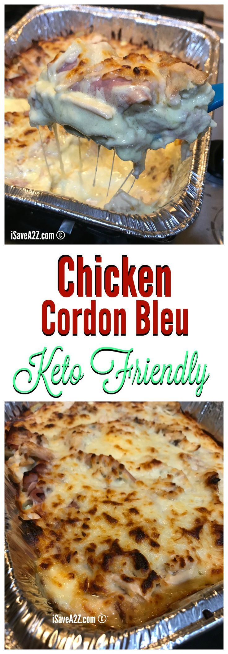 Chicken Cordon Bleu Casserole Keto Friendly Recipe  Keto -2220