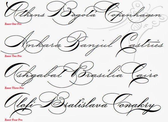 Fancy Cursive Fonts Alphabet For Tattoos fancy cursive fonts now ...