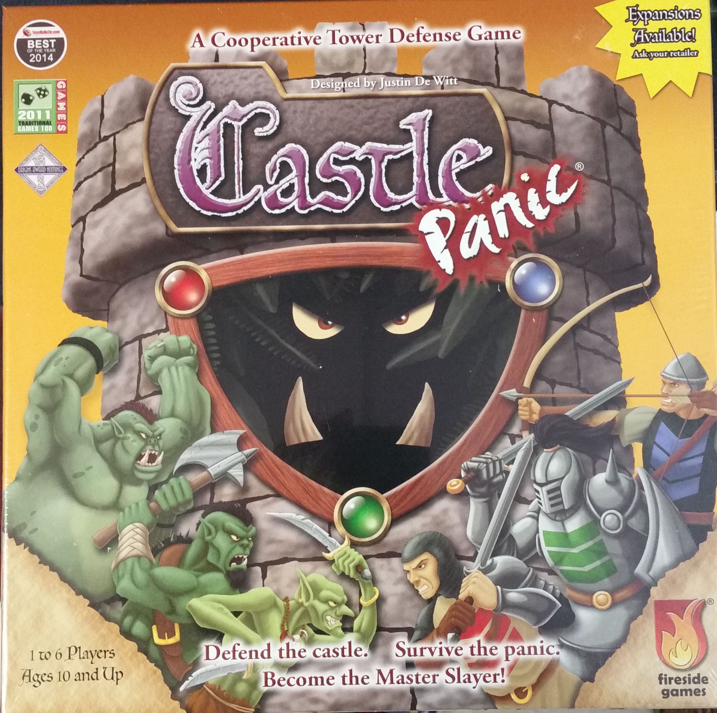 Castle Panic is the first cooperative game I ever played