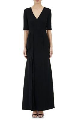PHILOSOPHY DI LORENZO SERAFINI Crepe Gown. #philosophydilorenzoserafini #cloth #gown
