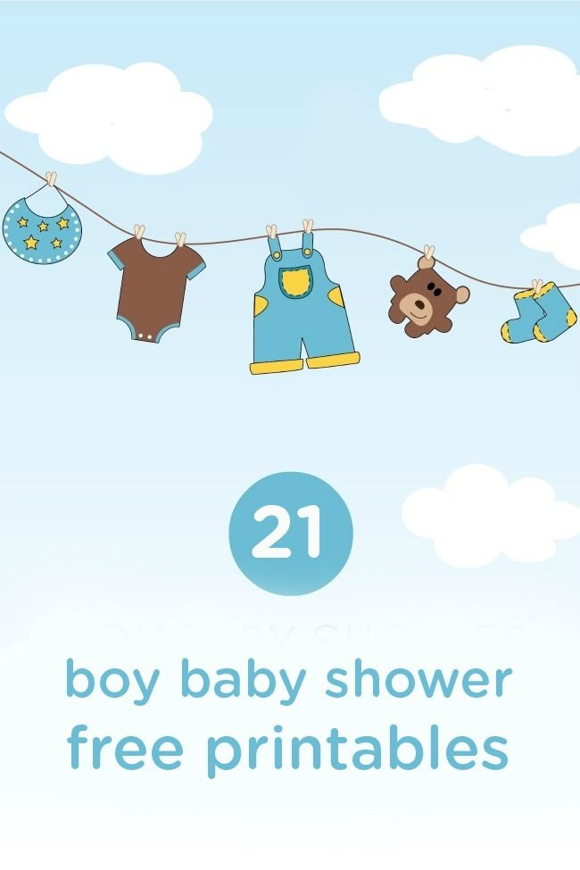 It is a picture of Mesmerizing Free Baby Shower Printables Decorations