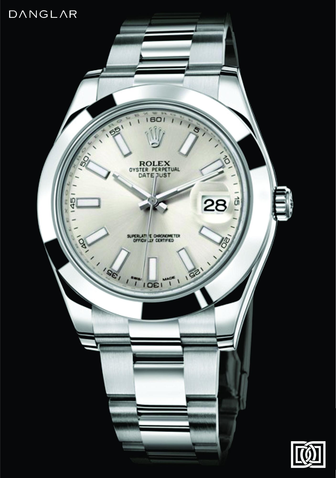 d9d41b5ad2f Relógio Rolex Datejust II em aço 41 MM