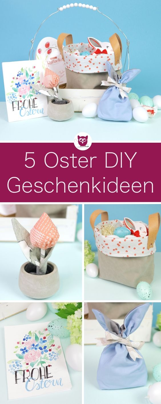 5 oster diys zum n hen und basteln perfekte ostergeschenke und ideen f r geschenkverpackung als. Black Bedroom Furniture Sets. Home Design Ideas