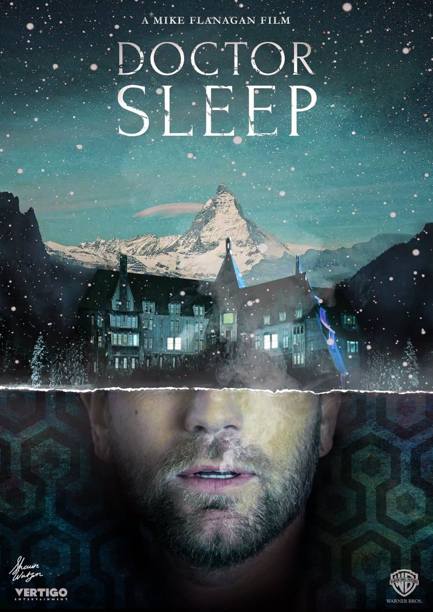 Mike Flanagan Shares Stunning Fan Poster for DOCTOR SLEEP