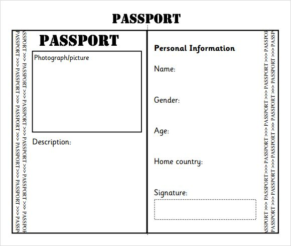 passport templates - Romeo.landinez.co