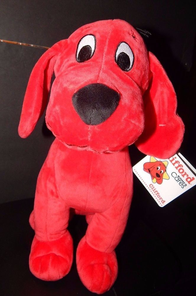 New W Tag 14 Clifford The Big Red Dog Stuffed Animal Toy Kohls