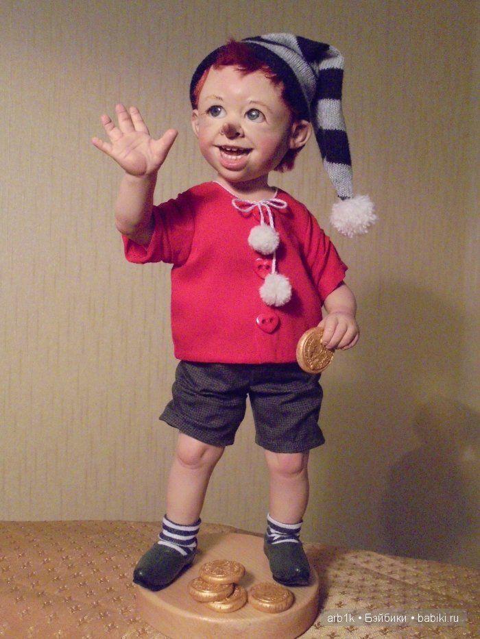 Буратино. Авторская кукла Катрушовой Татьяны - Бэйбики ...