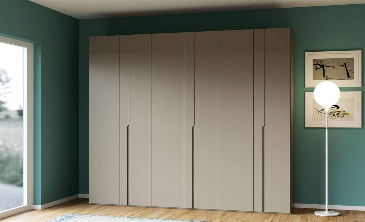 Armadio Sei Ante Battenti Di Differenti Spessori Con Maniglia Wardrobes Bedroom Pinterest Picoftheday Interiorde Tall Cabinet Storage Furniture Home Decor