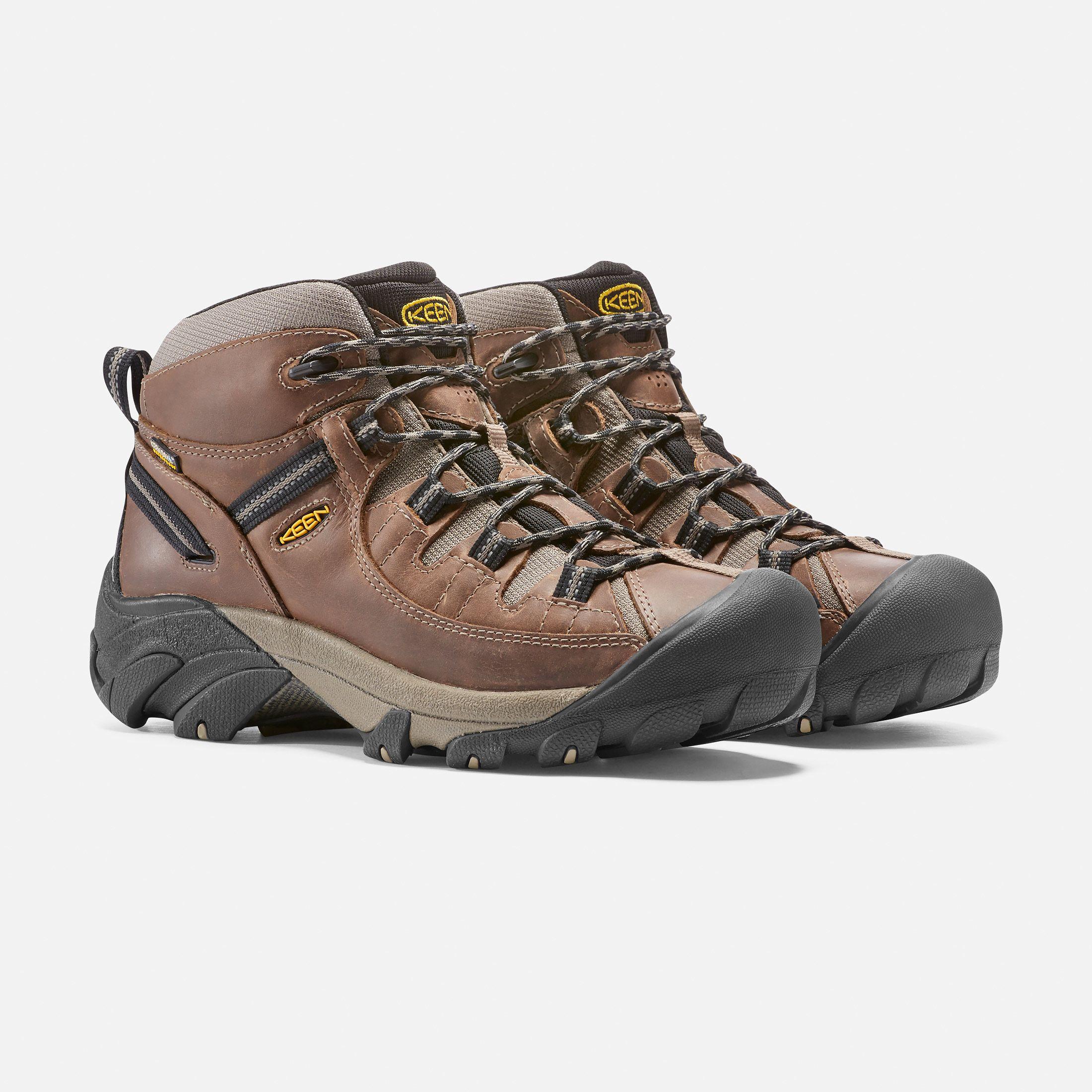 Keen Men S Waterproof Hiking Boots Targhee Ii Mid 10 Shitake