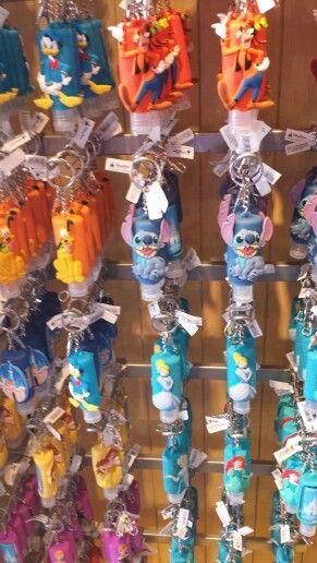 Disney Keychain Hand Sanitizer Stitch Disney Keychain Lilo