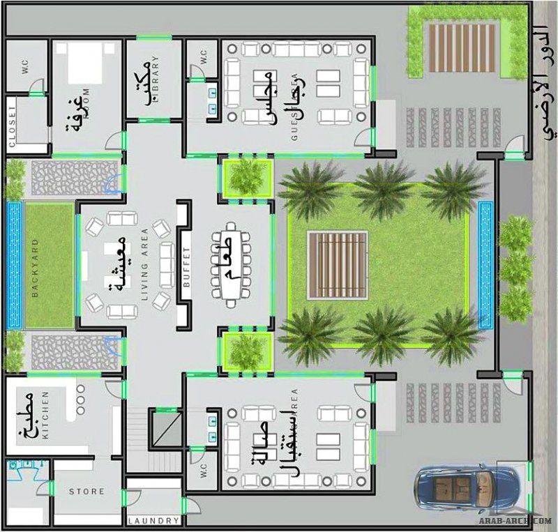 مخطط فيلا دورين مساحة الارض 30x30 مبادرة مساعد القفاري مشاركة المعماري حسين باعيسى من حائل In 2021 New House Plans New Homes House Plans