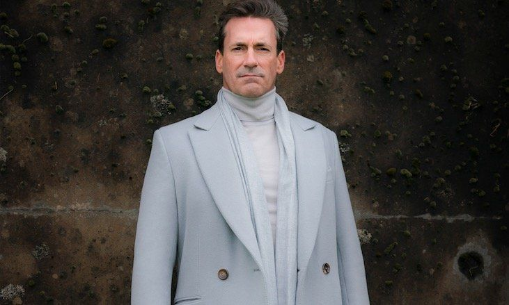 Our First Look at Jon Hamm as Archangel Gabriel in Good Omens