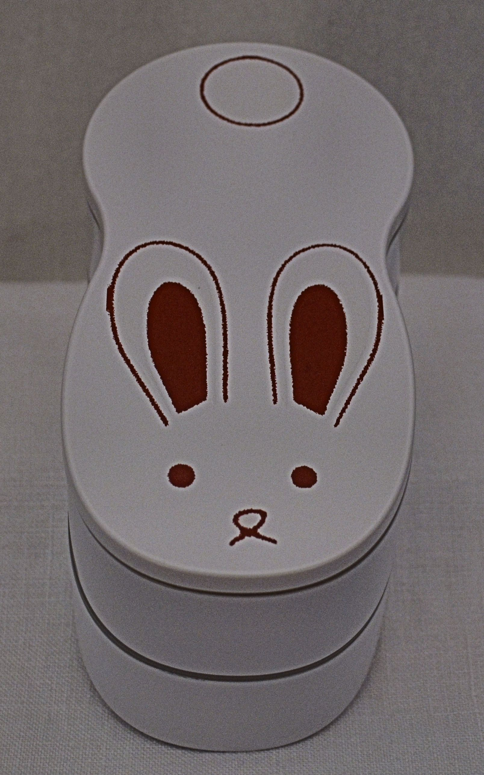 Long Bunny Bento #bunny #lunchbox #bento http://www.hanabentos.com/shop/long-bunny-bento/